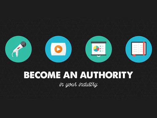 Use your About Me page to become an authority in your industry.