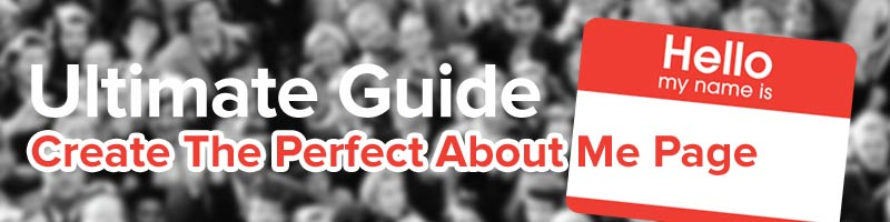 Learn how to build the perfect about me page from Wise Startup Blog